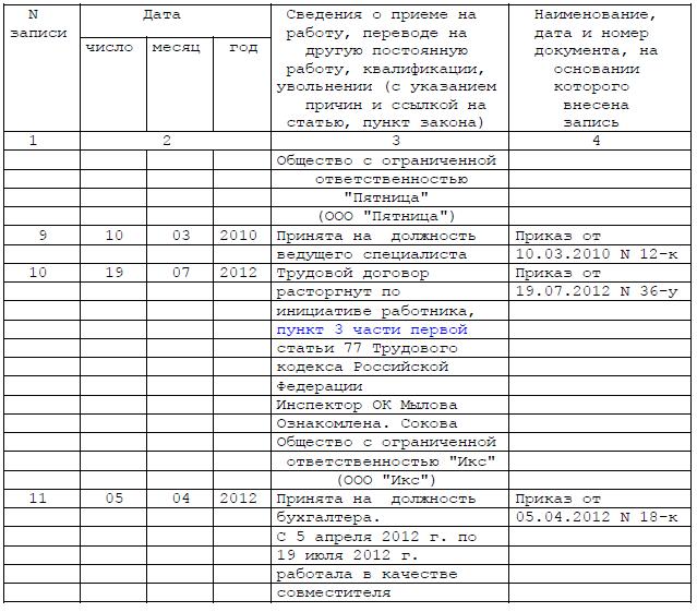 Нажмите на изображение для увеличения. Название: Запись в трудовой 1.png Просмотров: 6538 Размер: 40.5 Кб ID: 56148