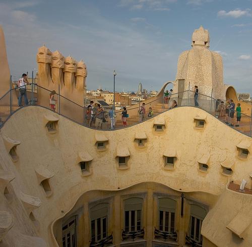 Испания барселона архитектура гауди